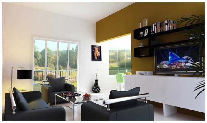 3 BHK Flat 3D & Interior View