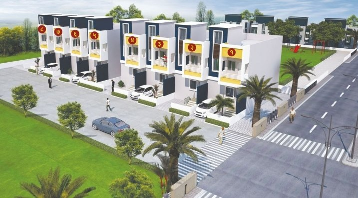 Bungalow for sale in Sangli, 3 BHK Row Bungalow in Sangli - Baypass road