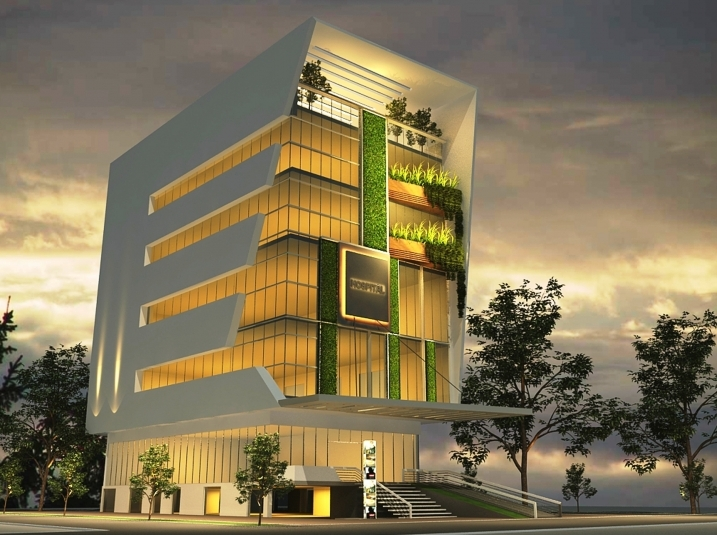 Hospital Building for Shree Siddhivinayak Nursing Home