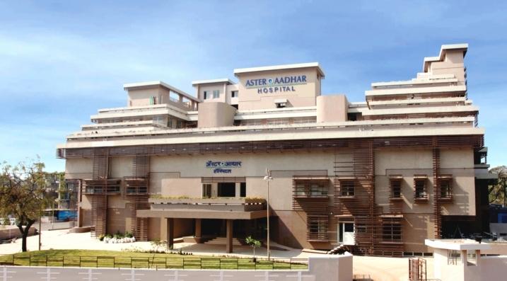 Hospital Building for Aster Aadhar
