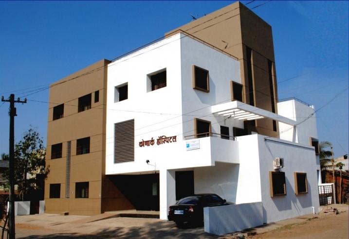 Hospital Building for Dr. Dilip Shinde