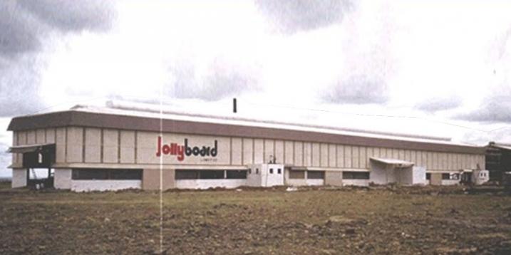 Factory building & various foundations for Jollyboard Ltd., Mumbai