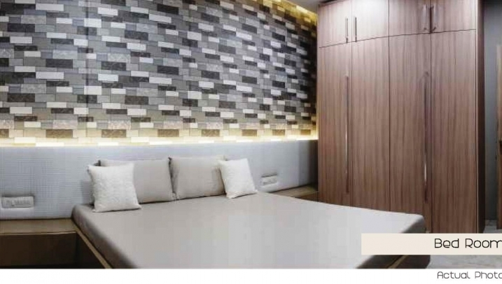 Sample Flat Bedroom